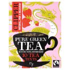 Clipper Fairtrade pure green tea with strawberry 10s - 25g