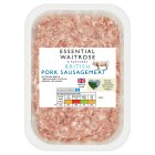 essential Waitrose British pork sausagemeat - 700g