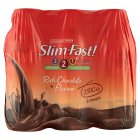 Slim.fast! chocolate 6 pack shake - 6x325ml Brand Price Match - Checked Tesco.com 26/11/2014