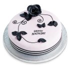 Fiona Cairns Chocolate Rose Cake - 1x1each