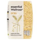 essential Waitrose orzo