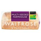 Waitrose LoveLife farmhouse batch multi-seed sliced bread - 800g