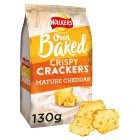 Walkers Crispy Crackers Cheddar Cheese - 130g