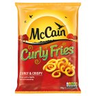 McCain curly fries - 750g Brand Price Match - Checked Tesco.com 16/04/2014