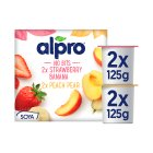 Alpro Soya no bits plant-based alternative to yogurt - 4x125g