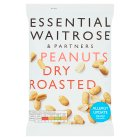 essential Waitrose large dry roasted peanuts - 200g