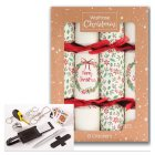 Waitrose Holly & Wreath Crackers - 8s