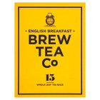 Brew Tea Co English breakfast 15s - 56.25g
