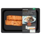 Waitrose Scottish Salmon Fillets with Sweet Chilli Sauce - 200g