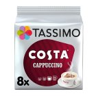 Tassimo Costa cappuccino 8 large cups - 280g Brand Price Match - Checked Tesco.com 26/03/2015