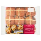 Waitrose richly fruited mini hot cross buns - 9s