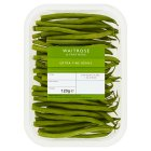 Waitrose Ltd selection extra fine beans - 120g