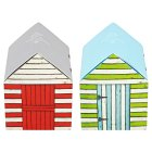Waitrose Extra Soft White Tissues Beach Hut Box - 56x1 sheet