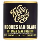 Willie's indonesian black chocolate