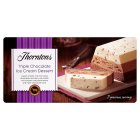 Thorntons triple chocolate dessert