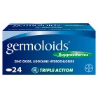 Germoloids suppositories - 24s Brand Price Match - Checked Tesco.com 16/04/2015