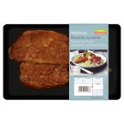 Waitrose honey & soy smoked mackerel fillets -