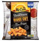 McCain steakhouse ridge cut beef flavour fries - 750g Introductory Offer