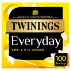 Twinings everyday 100 tea bags - 290g