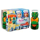 Actimel for kids strawberry & vanilla - 6x100g Brand Price Match - Checked Tesco.com 26/03/2015