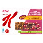 Kelloggs Special K 5 Bars Chocolate & Raspberry - 5x22g Brand Price Match - Checked Tesco.com 30/07/2014