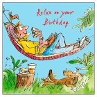 Quentin Blake Male Birthday Card - each