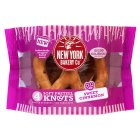 New York Bakery Co Soft Pretzel Knots Sweet Cinnamon - 4s Introductory Offer