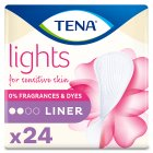 Lights by Tena liners - 24s