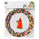 Eric Carle The Very Hungry caterpillar plates - 8s