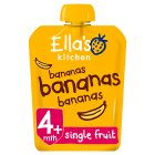 Ella's Kitchen Organic first tastes bananas bananas bananas baby food - 70g Brand Price Match - Checked Tesco.com 27/08/2014