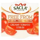 Sacla Creamy Tomato Stir In - 150g Introductory Offer
