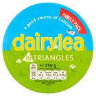 Dairylea cheese triangles - 280g