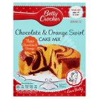 Betty Crocker mix chocolate & orange - 435g