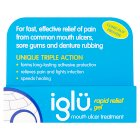 Iglu rapid relief gel - 8g Brand Price Match - Checked Tesco.com 20/05/2015
