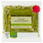Waitrose ready sliced runner beans - 100g