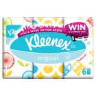 Kleenex® Original Tissue Pocket 6 Pack - 6x9s Brand Price Match - Checked Tesco.com 02/12/2013