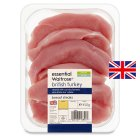 essential Waitrose British turkey breast steaks - 450g
