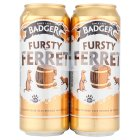 Badger Fursty Ferret ale - 4x500ml Brand Price Match - Checked Tesco.com 01/07/2015