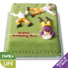 Rugby Tackle Cake - each
