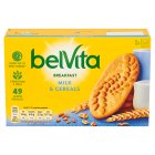 BelVita Breakfast biscuits - milk & cereals - 6x50g Brand Price Match - Checked Tesco.com 05/03/2014