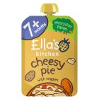 Ella's Kitchen Organic big smiles cheesy pie with veggies - stage 2  baby food - 130g Brand Price Match - Checked Tesco.com 23/07/2014