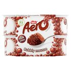 Aero milk choc bubbly dessert - 4x59g Brand Price Match - Checked Tesco.com 16/07/2014