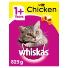 Whiskas complete with chicken dry cat food - 825g
