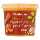 Waitrose Creamy Vegetable & Pearl Barley - 350g