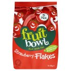 Fruit Bowl Strawberry Fruit Flakes 5 pack - 5x20g