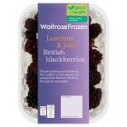 Waitrose British frozen blackberries