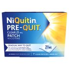 Niquitin clear 21mg patch - 7s Brand Price Match - Checked Tesco.com 10/02/2016