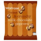 Waitrose Toffee & milk chocolate popcorn