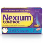 Nexium 20mg control tablets - 7s