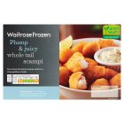 Waitrose frozen breaded wholetail scampi - 300g